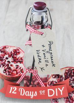 Pomegranate Vanilla Infused Vodka
