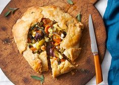 This Sweet Potato & Goat Cheese Galette with Yves Veggie Broccoli Bites is a perfect dish to serve at a holiday brunch. It's delicious, vegetarian and even if your crust isn't perfect, that just makes it look more rusticQ!