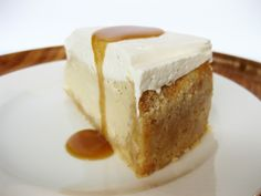 Salted Caramel & Vanilla Cheesecake