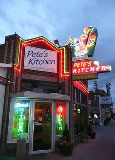 Pete's Kitchen! I went there many nights and mornings! :-)