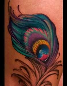 peacock feather tattoos - Bing Images