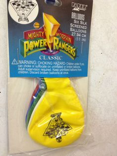 Mighty Morphin' Power Rangers Party Balloons