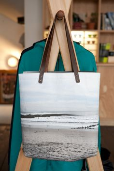 Maiko Yoshihara tote bag at Pilgrim Surf and Supply in Williamsburg. Photo: Donna Alberico for The New York Times #r29summerstyle