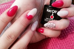 Having fun with LacQit new colors Topless in the Tropics and There's Sand in my Castle , added the new LacQit No Wipe Top Coat for a 4 week wear!  Www.lacqit.com