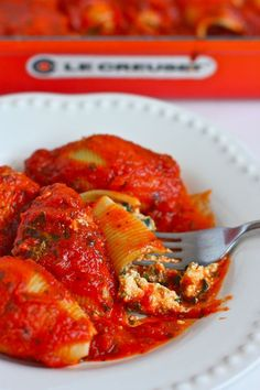 Dairy-Free Spinach Stuffed Shells