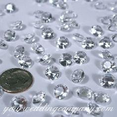acryl diamond, diamond confetti