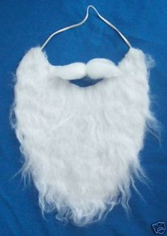 White Fake MUSTACHE BEARD disguise by Jacobson Hat Company, http://www.amazon.com/dp/B001GECBY2/ref=cm_sw_r_pi_dp_GByCrb01CD6RH