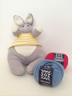 free knit bunny pattern