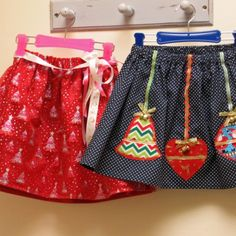 Felicity Sewing Pattern     FREE PATTERN --- Christmas Glitter Skirts by Felicity Sewing Patterns. To fit girls 6 months to 8 years.