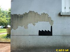 Brilliant Urban Interventions by OakOak Turn Crumbling City Infrastructure into a Visual Playground