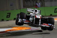 Kamui Kobayashi Sauber C30 F1