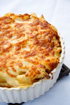 Greek baked pasta with ground beef casserole .....