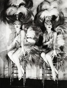 The Dolly Sisters - c. 1927 - Photo by James Abbe - @~ Mlle