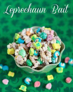 Lucky Leprechaun Bait - guaranteed to catch even the most mischievous leprechaun! #StPatricksDay