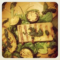 Grilled Tofu with Cilantro Pesto from the 10-Day Detox Diet More