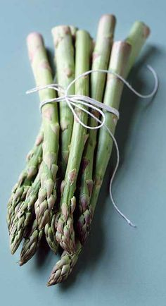 In season - April, asparagus