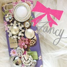 iLoveToCreate Blog: DIY Phone Case - Vintage Junk Jewelry