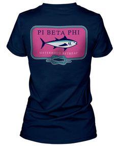 Nautical Pi Beta Phi T-shirt