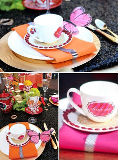 Alice and Wonderland themed party.  Would be so cute for a baby shower :)