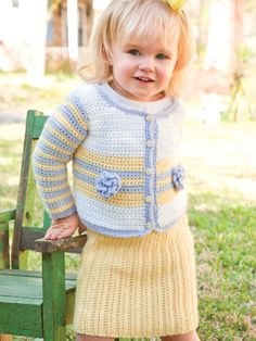 Free Crochet Pattern -- Prep School Ensemble