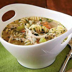 20-Minute Chicken Noodle Soup   CookingLight.com