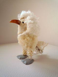 Fuzzy cute bird - by; wassupbrothers