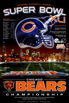 Bear Down Chicago Bears!
