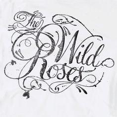 the wild roses typography