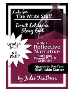 reflective essay writing prompts + secondary school