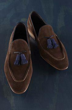 Tassel loafers.