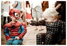 super heroes.