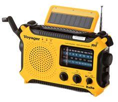 Solar-Powered Emergency Radio