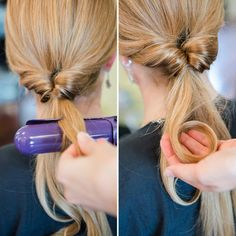 How to Do an Inside-Out Ponytail (SIMPLE!)