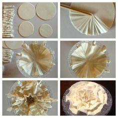 Ruffle Gum Paste Flower Tutorial