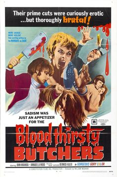 Bloodthirsty Butchers, d'Andy Milligan, 1970.
