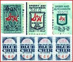 Green stamps!redeemed for wonderful things like irons and toys and other neat stuff.