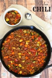All Meat Veggie Chili – Paleo Chili Recipe » Super Glue Mom™
