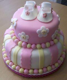 Girl baby shower cake - Bing Images
