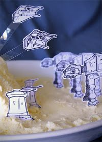 Filth Wizardry: Battle of Hoth Ice-cream dessert printable- for Star Wars Day