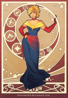 The Women Of Marvel In Their Formal Wear Costumes