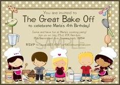 Kitchen Themed Bridal Shower Invitations for best invitations ideas