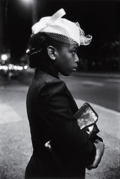Harlem, New York City 1940. Photo by Martine Barrat