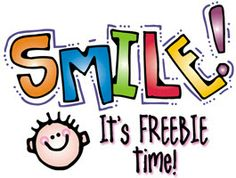 This week's FREEBIE will give you 2 reasons to grin... and maybe even giggle! You get this colorful clip art 'SMILE' word & the cute little dude that goes with it. Great for adding a little personality to any project. Available for a limited time! (thru 5/14/14)