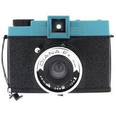 Diana+ Fixed Focus Medium Format Camera with 75mm Lens
