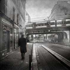 paris, early mornings, frédéric baqu, earli morn, train track