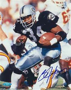 Bo Jackson Oakland Raiders he was once great BO KNOWS