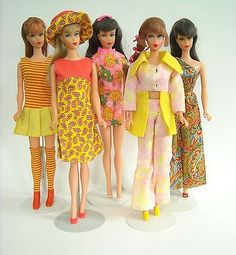 Mod Clone Outfits for Barbie | sold for $71 on eBay 4/2014