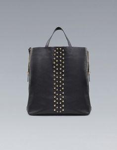 handbag, stud shopper, shopper bag, school bags