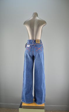 San Francisco Riding Gear Jeans - late 70's fashion trend.  I had to buy my own because at $30 a pair my parents sure weren't going to buy them for me.