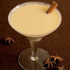 With the essence of vanilla vodka and pumpkin puree, this Pumpkin Martini is a bit creamy, a bit spicy and just potent enough.